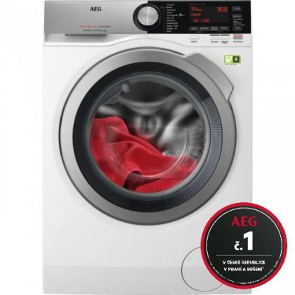 Pračka s předním plněním aeg ökomix l8fec49sc, a+++, 9 kg