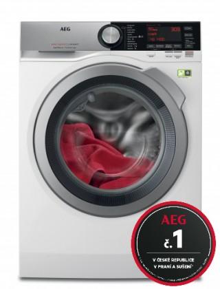 Pračky předem plněné Pračka s předním plněním AEG SoftWater L9FEC49SC, A+++, 9 kg