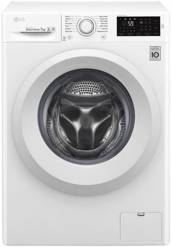 Pračky předem plněné Pračka s předním plněním LG FW60J5WN3, A+++-10%, 6,5 kg