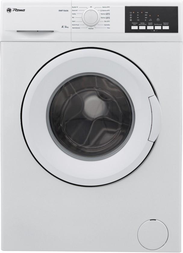 Pračky předem plněné Pračka s předním plněním RWF1060A, A++, 6kg