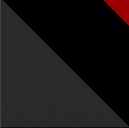 Pracovní deska - Černá (2000x600x38)
