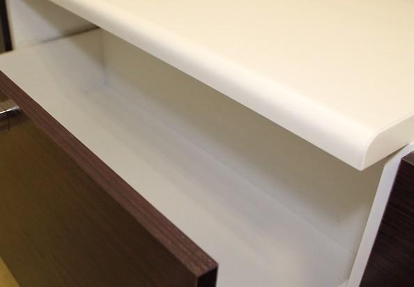 Pracovní deska Lens - Kuchyňská deska 260 (bílá)
