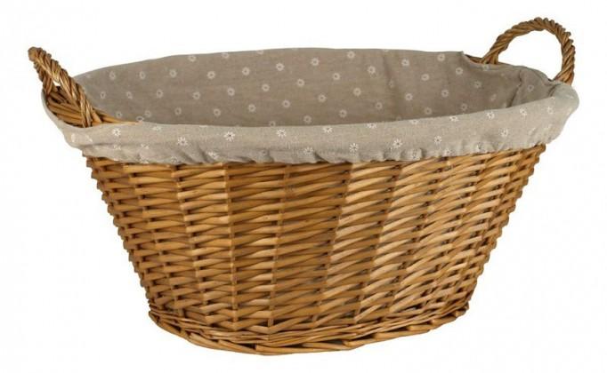 Prádelní koš LIS07-1158-HO (medová)