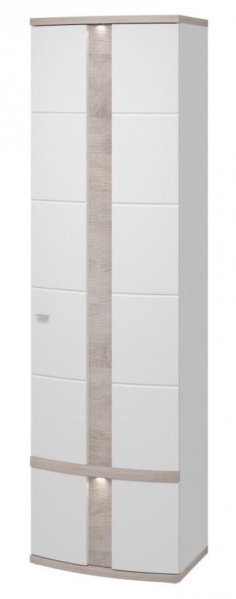 Předsíňová skřín Adena - skříň, 1x dveře pravé