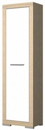 Předsíňová skřín Cremona Plus CRMS70 (Jasan coimbra/bílá vysoký lesk)
