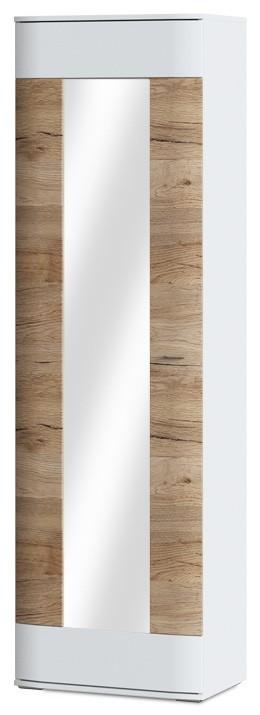 Předsíňová skřín Denver Typ 01 (bílá arctic/dub san remo pískový)