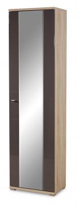 Předsíňová skřín GW-Life - skříň se zrcadlem (dub sonoma/grafit)