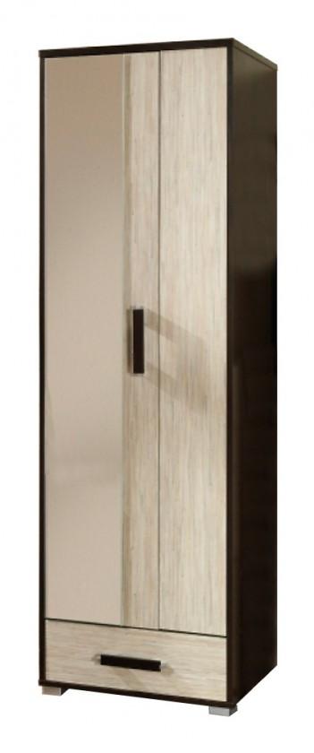 Předsíňová skřín Oporto - skříň (wenge/mořská tráva)