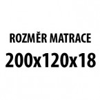Prima DUO XXL - Matrace (200x120x19)