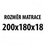 Prima DUO XXL - Matrace (200x180x19)