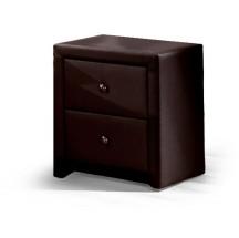 Prima - Noční stolek (tmavě hnědá)