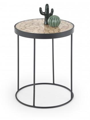 Přístavný stolek Naturo (hnědá)