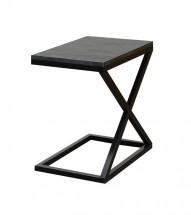 Přístavný stolek ST202009 (šedá/černá)