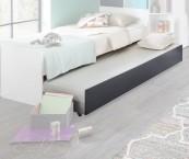 Přistýlka pod postel Joker (bílá, antracit)