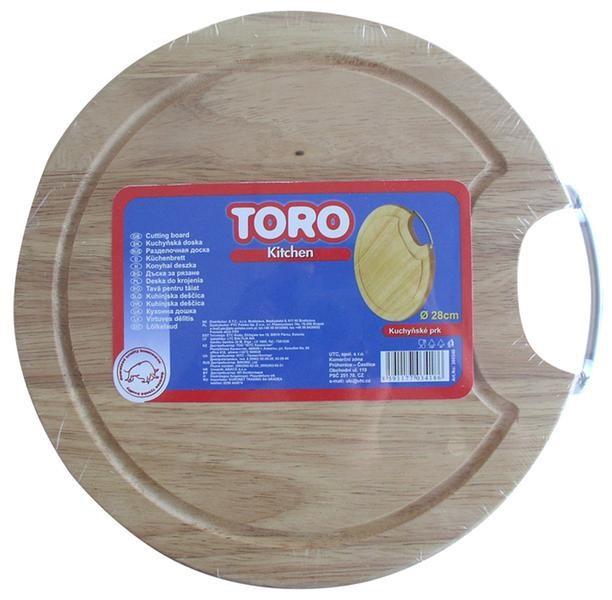 Prkénko kulaté 360540 (dřevo,chrom)