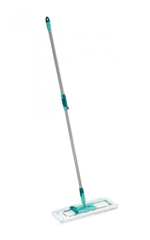 Profi - Mop MicroDuo, teleskopická tyč (stříbrná,tyrkysová,bílá)