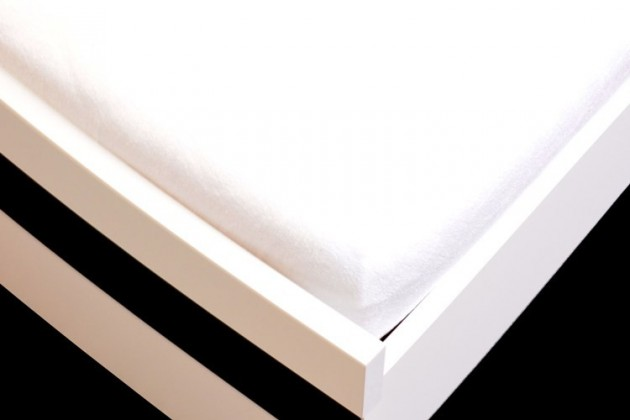 Prostěradlo Froté, 90x200 (bílé)