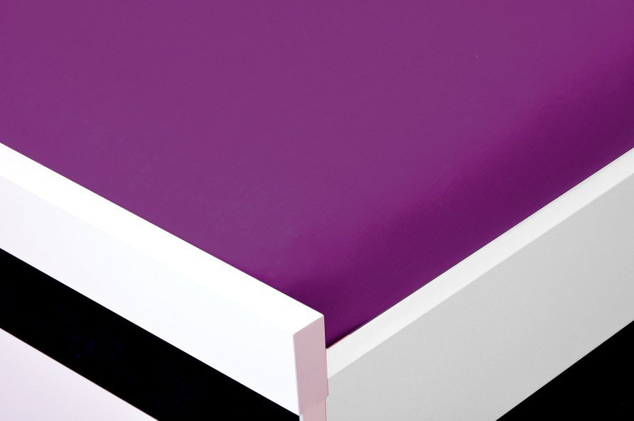 Prostěradlo Jersey, 200x220 (fialové)