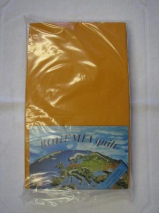 Prostěradlo Jersey 90x200cm, oranžová