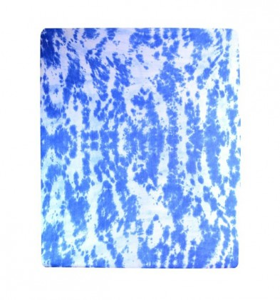 Prostěradlo Jersey, batika, 180x200 (modré)