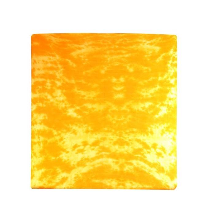 Prostěradlo Jersey, batika, 180x200 (žluté)