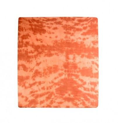 Prostěradlo Jersey, batika, 90x200 (hnědé)