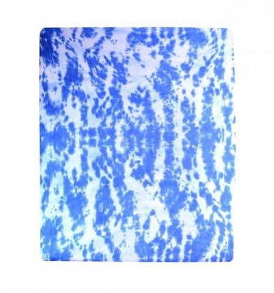 Prostěradlo Jersey, batika, 90x200 (modré)