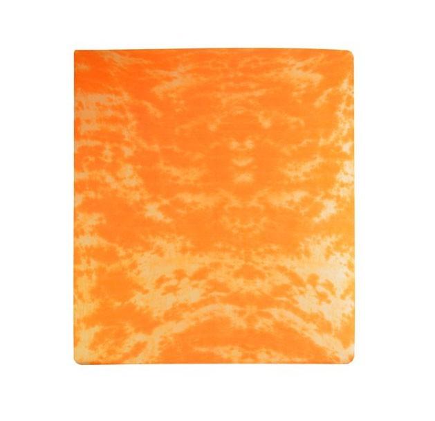 Prostěradlo Jersey, batika, 90x200 (oranžové)