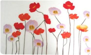 Prostírání (květiny gerbera)