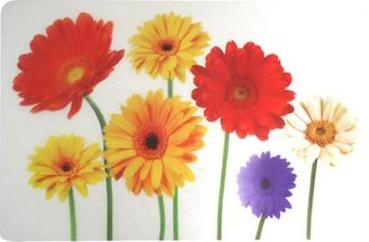 Prostírání (květiny slunečnice)