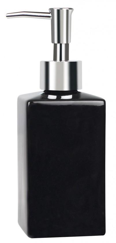Quadro-Dávkovač mýdla black(černá)