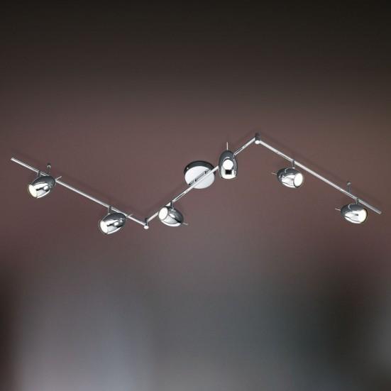 Quincy - Stropní osvětlení, GU10 (stříbrná)