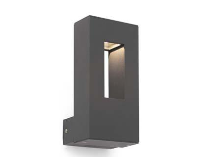 Rabat - Nástěnné svítidlo (tmavě šedá)