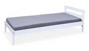 Rám postele Finn - 90x200, rošt (bílá)