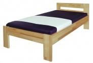 Rám postele Junior, 90x200, masívní buk, přírodní