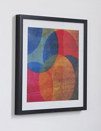 Rámeček 41-322 (modrá, oranžová, červená)