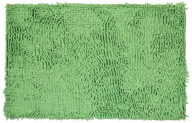 Rasta micro - koupelnová předložka, 50x80 cm (zelená)