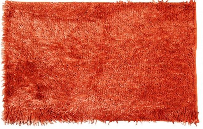 Rasta micro new - koupelnová předložka, 50x80 cm (oranžová)