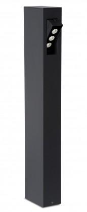 Rectan - venkovní osvětlení, 9W, LED (černá)