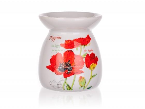 Red Poppy - Aroma lampa, 10,2 cm (bílá)