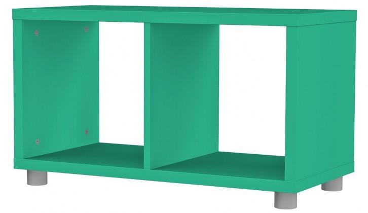 Regál Box - regál 1x2 (jadeitová)