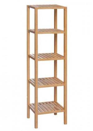 Regál do koupelny Regál DR-011-3 (bambus lakovaný)