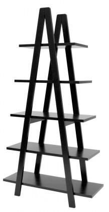 Regál Strada - 2008-024, regál (černá)