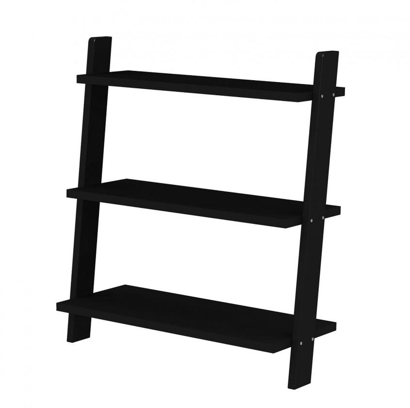 Regál Strada - 2015-024, regál (černá)