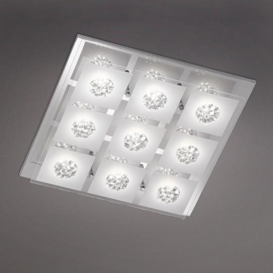 Reims - Nástěnné svítidlo, LED (chrom)