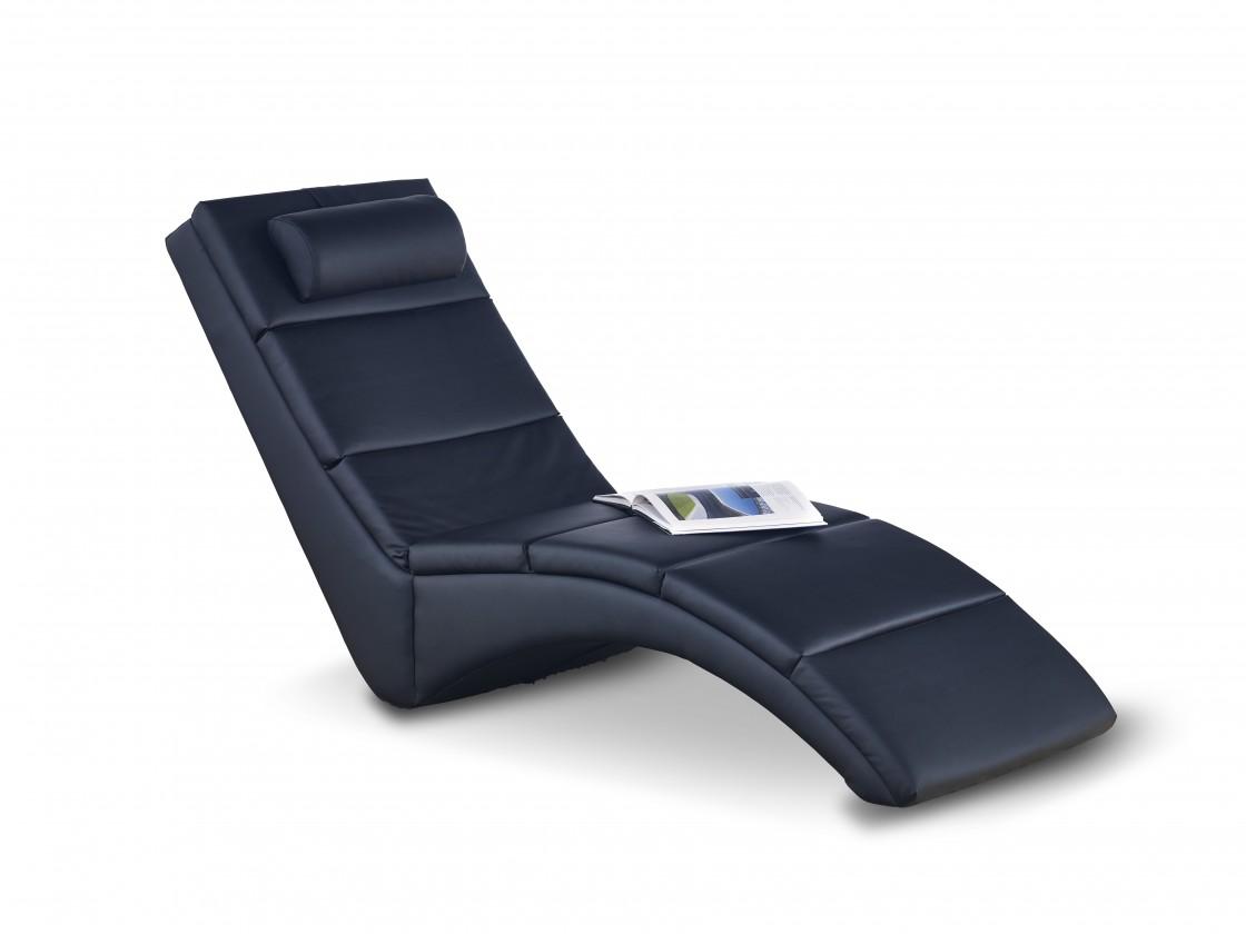 Relaxační Davis - Lehátko (eko kůže černá)