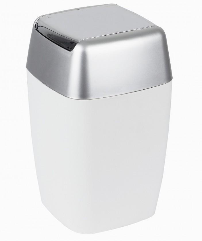 Retro-Odpadkový koš white(bílá)