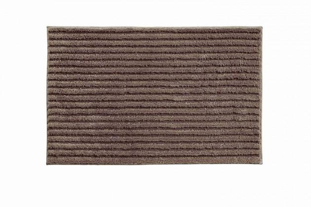 Riffle - Koupelnová předložka 60x100 cm (kakaová)