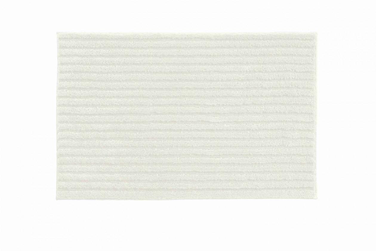 Riffle - Koupelnová předložka 60x100 cm (smetanová)