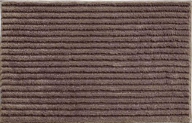 Riffle - Koupelnová předložka 70x120 cm (kakaová)